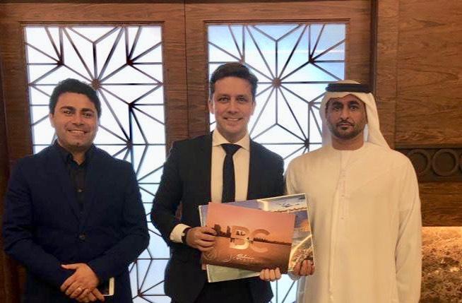 Prefeito convida Sheik de Abu Dhabi para vir a Balneário Camboriú 84ede3b8b9a8e