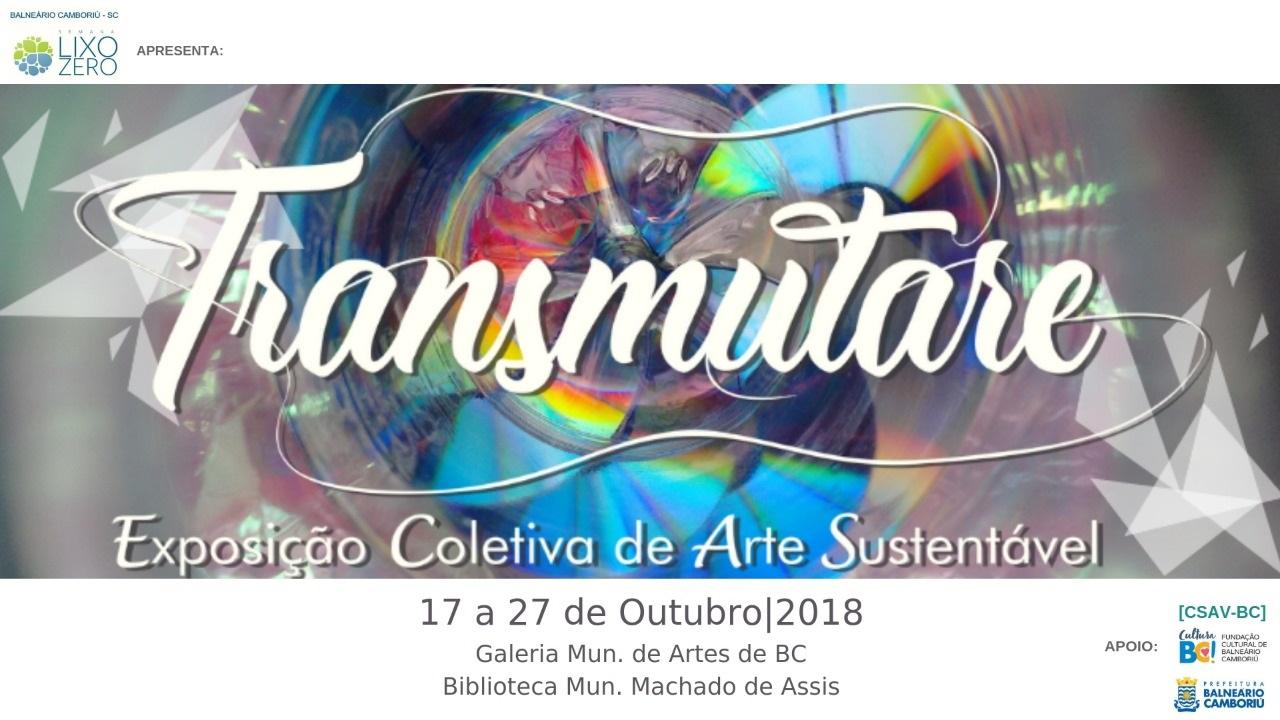 38990934d Exposição Transmutare abre Semana Lixo Zero nesta quarta-feira