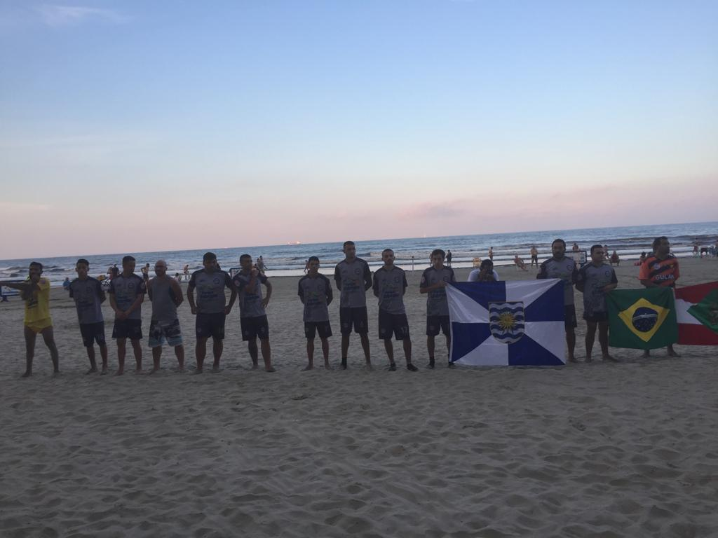 afa76f9ccc Campeonato de Futebol de Areia iniciou com bons jogos. Fotos  FME
