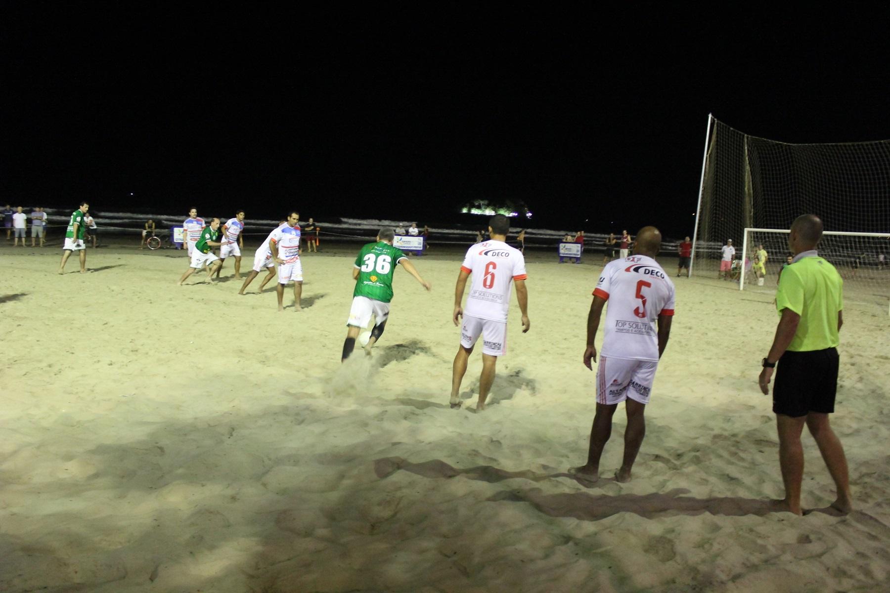 39d8e614da Abertura do futebol de areia oficial é nessa terça-feira
