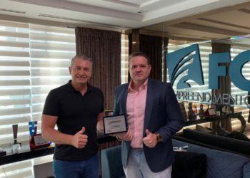 Jean Graciola, presidente da FG, e Altevir Baron, diretor de mercado e marketing da FG Empreendimentos.